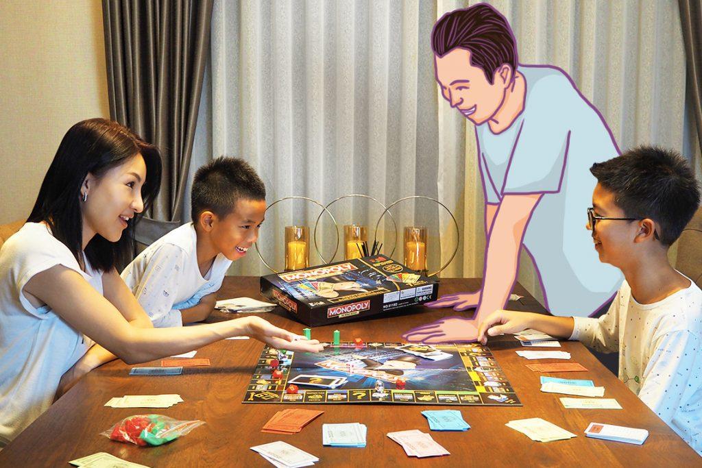 Membuat kenangan seru bersama keluarga