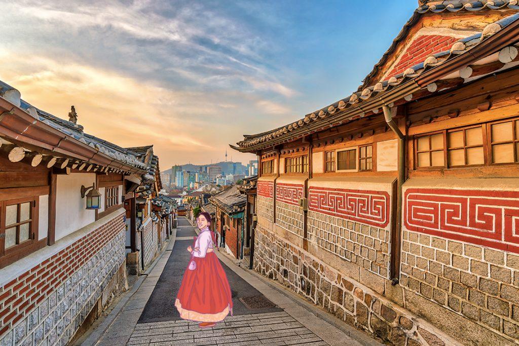 Bukchon Hanok Village, perkampungan tradisional di dekat pusat kota Seoul