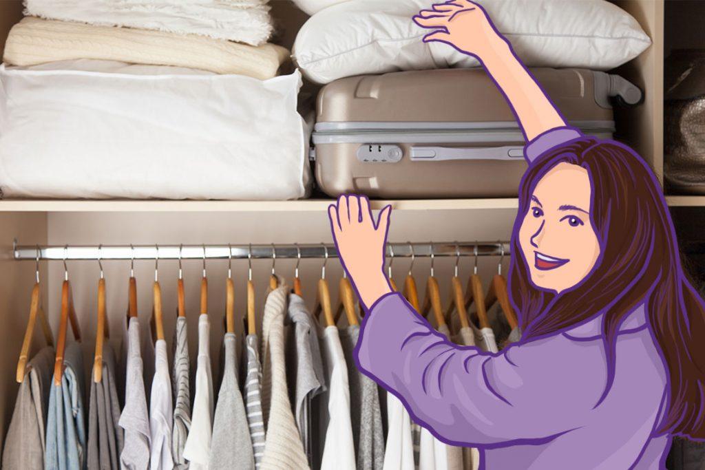 Hindari menyimpan koper atau ransel di tempat yang terkena sinar matahari langsung