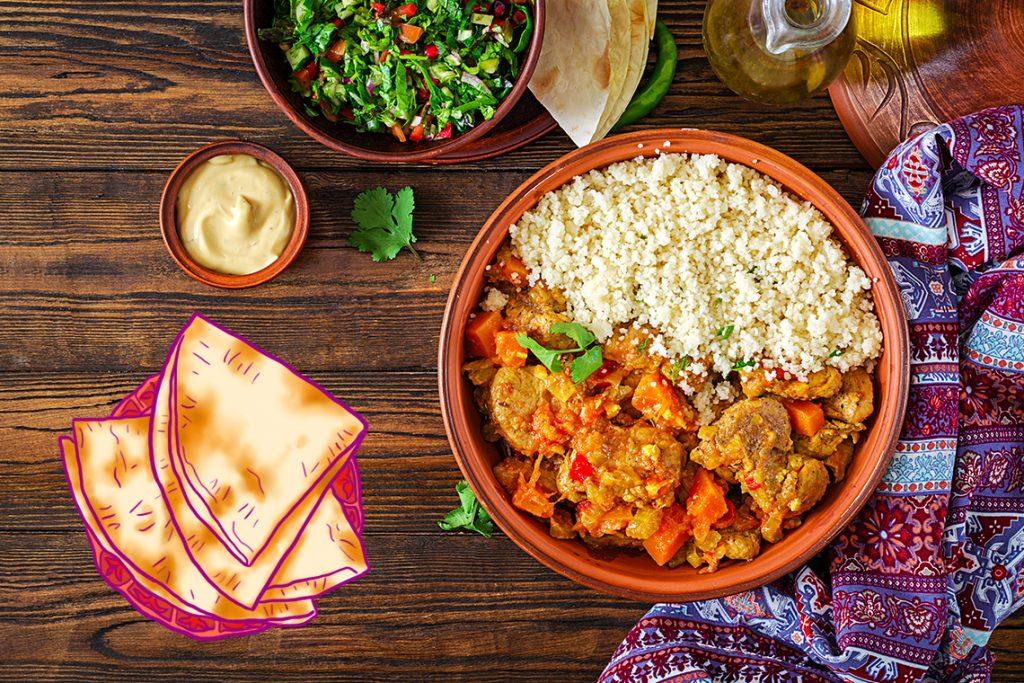 Tagine khas Maroko yang lezat