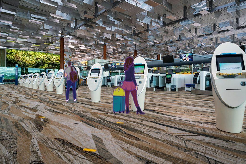 Bandara Changi contactless