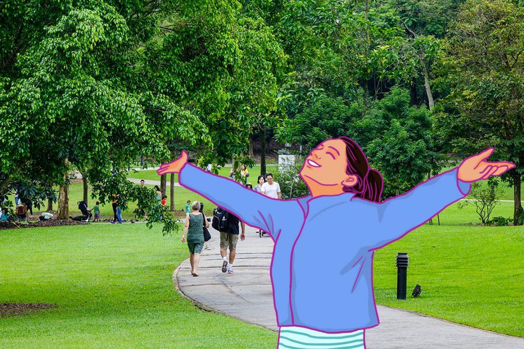 Taman kota singapura